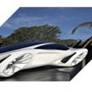 "Mercedes-Benz Biome Concept Archival Canvas Car Print (Mounted) 16"" x 12"""