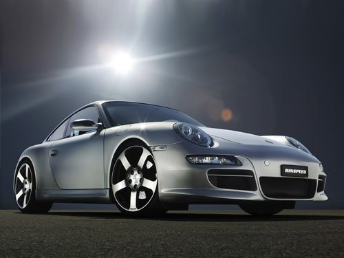 """Porsche Rinspeed Indy 4S 997 Concept Car Poster Print on 10 mil Archival Satin Paper 16"""" x 12"""""""