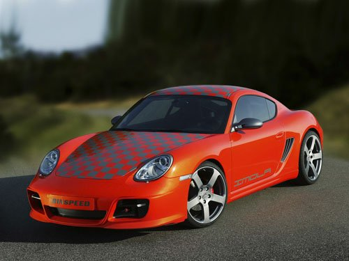 "Porsche Rinspeed Imola Concept Car Poster Print on 10 mil Archival Satin Paper 16"" x 12"""