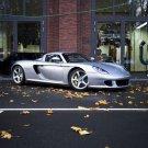 "Porsche Edo Carrera GT Car Poster Print on 10 mil Archival Satin Paper 16"" x 12"""