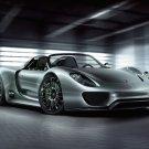 "Porsche 918 Spyder Concept Car Poster Print on 10 mil Archival Satin Paper 16"" x 12"""