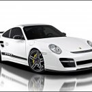 "Vorsteiner Porsche 911 Turbo V-RT Car Poster Print on 10 mil Archival Satin Paper 16"" x 12"""
