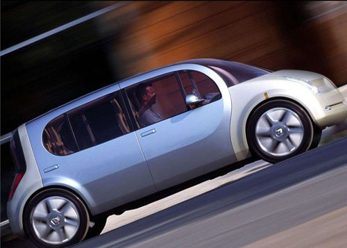 "Renault Ellypse Concept Car Poster Print on 10 mil Archival Satin Paper 16"" x 12"""