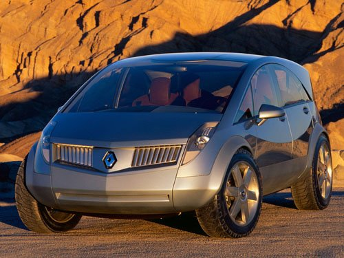 "Renault Koleos Concept Car Poster Print on 10 mil Archival Satin Paper 16"" x 12"""
