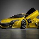 "Renault Megane Trophy Concept Car Poster Print on 10 mil Archival Satin Paper 16"" x 12"""