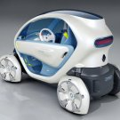 "Renault Twizy ZE Concept Car Poster Print on 10 mil Archival Satin Paper 16"" x 12"""