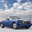 "Rolls-Royce Phantom Drophead Coupe Car Poster Print on 10 mil Archival Satin Paper 16"" x 12"""