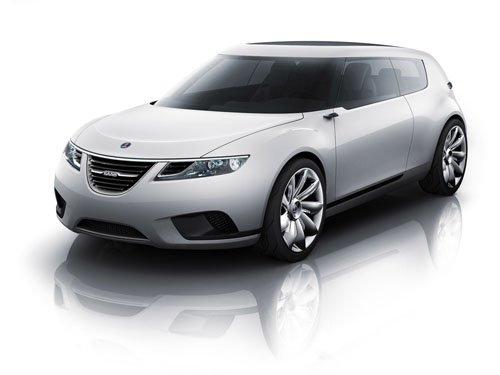 "Saab 9-X BioHybrid Concept Car Poster Print on 10 mil Archival Satin Paper 16"" x 12"""