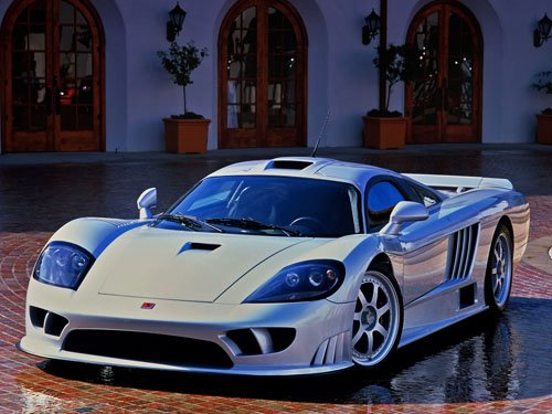 "Saleen S7 Car Poster Print on 10 mil Archival Satin Paper 16"" x 12"""