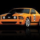 Saleen Ford Mustang 302 Parnelli Jones Car Poster Print on 10 mil Archival Satin Paper