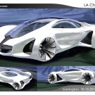 "Mercedes-Benz Biome Concept Car Poster Print on 10 mil Archival Satin Paper 16"" x 12"""