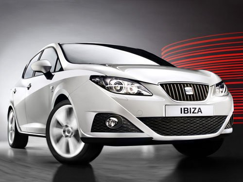 """Seat Ibiza Concept Car Poster Print on 10 mil Archival Satin Paper 16"""" x 12"""""""