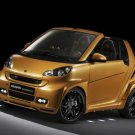 "Smart Fortwo Brabus Ultimate 112 Concept Car Poster Print on 10 mil Archival Satin Paper 20"" x 15"""