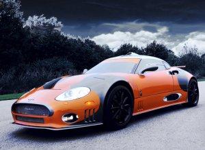 "Spyker C8 Laviolette LM85 Concept Car Poster Print on 10 mil Archival Satin Paper 16"" x 12"""