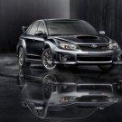 "Subaru Impreza WRX STI 2011 Car Poster Print on 10 mil Archival Satin Paper 16"" x 12"""