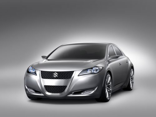 "Suzuki Kizashi Generation 3 Concept Car Poster Print on 10 mil Archival Satin Paper 16"" x 12"""