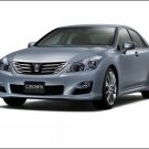 "Toyota Crown Hybrid Concept Car Poster Print on 10 mil Archival Satin Paper 16"" X 12"""