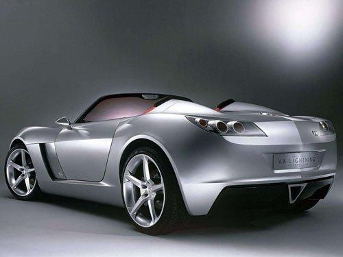 "Vauxhall VX Lightning Concept Car Poster Print on 10 mil Archival Satin Paper 16"" x 12"""