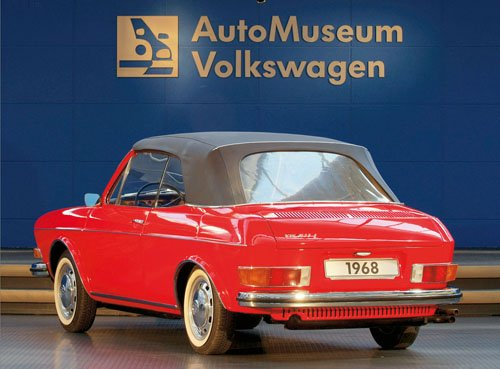 "Volkswagen 411 (1968) Car Poster Print on 10 mil Archival Satin Paper 16"" x 12"""