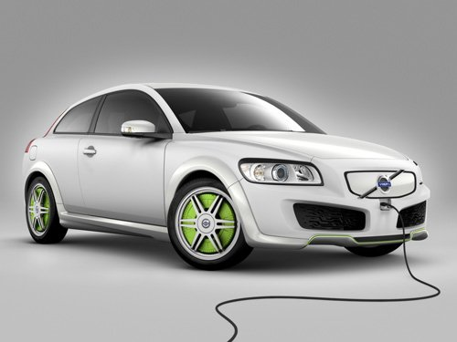 "Volvo Recharge Concept Car Poster Print on 10 mil Archival Satin Paper 16"" x 12"""