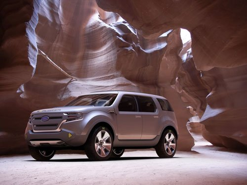 "Ford Explorer America Concept Car Poster Print on 10 mil Archival Satin Paper 16"" x 12"""""