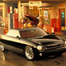 "Ford Forty Nine Concept Car Poster Print on 10 mil Archival Satin Paper 16"" x 12"""
