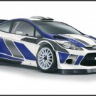 "Ford Fiesta RS WRC Car Poster Print on 10 mil Archival Satin Paper 16"" x 12"""