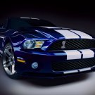 "Ford Mustang GT 500 Car Poster Print on 10 mil Archival Satin Paper 16"" x 12"""""