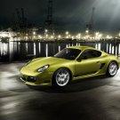 "Porsche Cayman R 2011 Car Poster Print on 10 mil Archival Satin Paper 16"" x 12"""