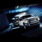 "Ford F-Series Super Duty (2011) Truck Poster Print on 10 mil Archival Satin Paper 16"" x 12"""""