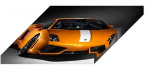 "Lamborghini Gallardo LP550-2 Valentino Balboni Archival Canvas Car Print (Mounted) 16"" x 12"""
