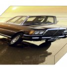 "Mercedes-Benz S Class 116 Series Archival Canvas Car Print (Mounted) 16"" x 12"""