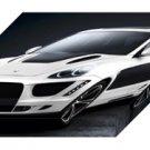 "Gemballa Porsche 958 Cayenne Tornado Car Archival Canvas Print (Mounted) 16"" x 12"""