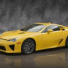 "Lexus LFA (2012) Concept Car Poster Print on 10 mil Archival Satin Paper 16"" x 12"""