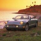"Ford Thunderbird 2002 Car Poster Print on 10 mil Archival Satin Paper 20' x 19"""