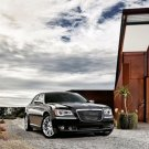 "Chrysler 300 Car Archival Canvas Print (Rolled) 16"" x 12"""