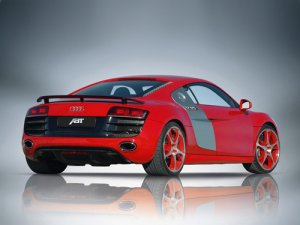 ABT Audi R8 V10 Car Poster Print on 10 mil Archival Satin Paper 16&quot; x 12&quot;