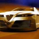 "Alfa Romeo Spix Concept Car Poster Print on 10 mil Archival Satin Paper 20"" x 15"""