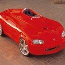 "Mazda Miata Mono-Posto Concept Car Poster Print on 10 mil Archival Satin Paper 16"" x 12"""