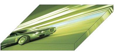 "Jaguar RD6 Archival Canvas Car Print (Mounted) 16"" x 12"""