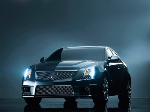 "Cadillac CTS-V Sport Sedan Car Poster Print on 10 mil Archival Satin Paper 16"" x 12"""