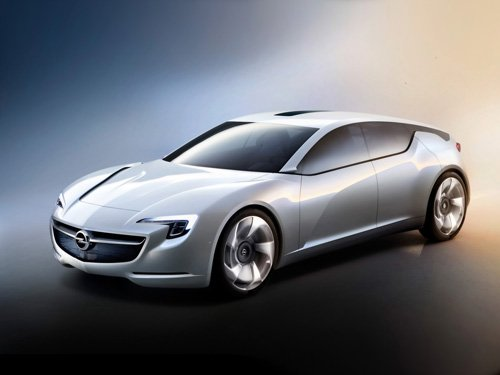"Opel Flextreme GT-E Concept Car Poster Print on 10 mil Archival Satin Paper 16"" x 12"""