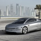 "Volkswagen XL1 Concept Car Poster Print on 10 mil Archival Satin Paper 16"" x 12"""