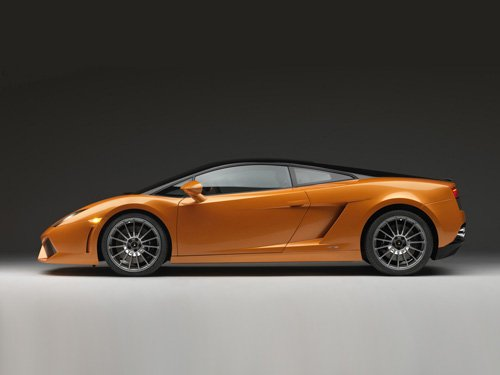 "Lamborghini Gallardo LP560-4 Bicolore Car Poster Print on 10 mil Archival Satin Paper 16"" x 12"""