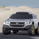 "Volkswagen Race Touareg 3 Qatar Concept Car Poster Print on 10 mil Archival Satin Paper 20"" x 15"""