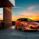 "Hyundai Veloster (2012) Car Poster Print on 10 mil Archival Satin Paper 20"" x 15"""