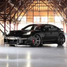 "Porsche Panamera TechArt GrandGT Carbon Kit Car Poster Print on 10 mil Archival Satin Paper 20""x15"""