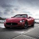 "Maserati GranCabrio Sport 2012 Car Poster Print on 10 mil Archival Satin Paper 16"" x 12"""
