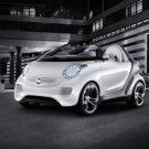 "Smart forspeed Concept Car Poster Print on 10 mil Archival Satin Paper 16"" x 12"""