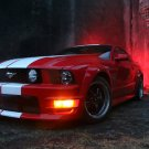 "Ford Mustang GT500 Car Poster Print on 10 mil Archival Satin Paper 26"" x 16'"